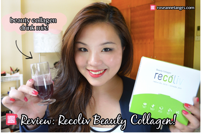 Roseanne Tang for recoliv